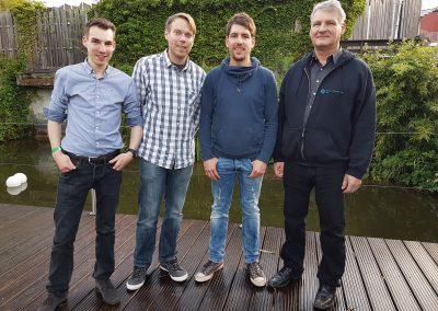 Unser Team mit Philipp Seibel von Jump 'n Shoez