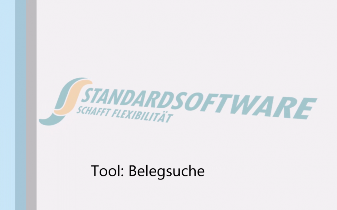 Tool: Belegsuche